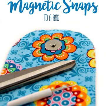 how to attach magnetic snaps