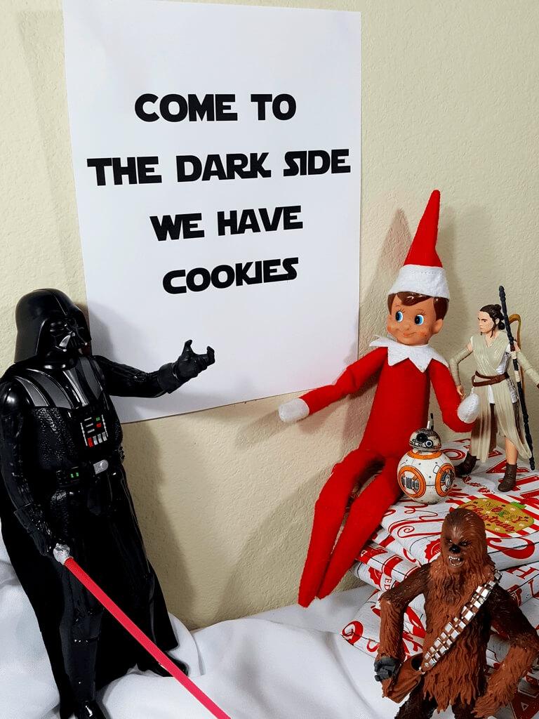 funny elf on shelf ideas