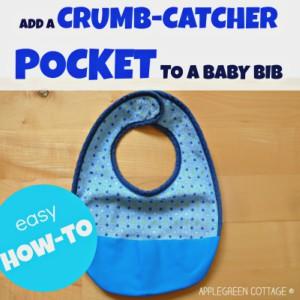 How-To Make a Crumb Catcher Bib