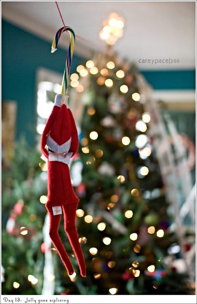 funny elf on the shelf ideas