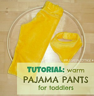 How to make PAJAMA PANTS for kids - EASY TUTORIAL