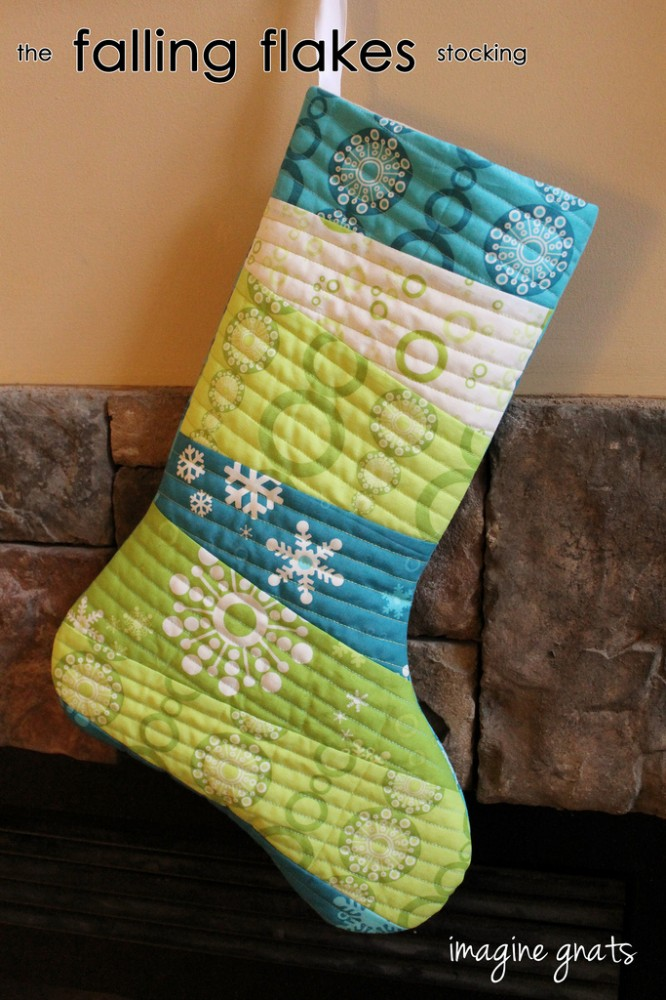quilted stocking patterns