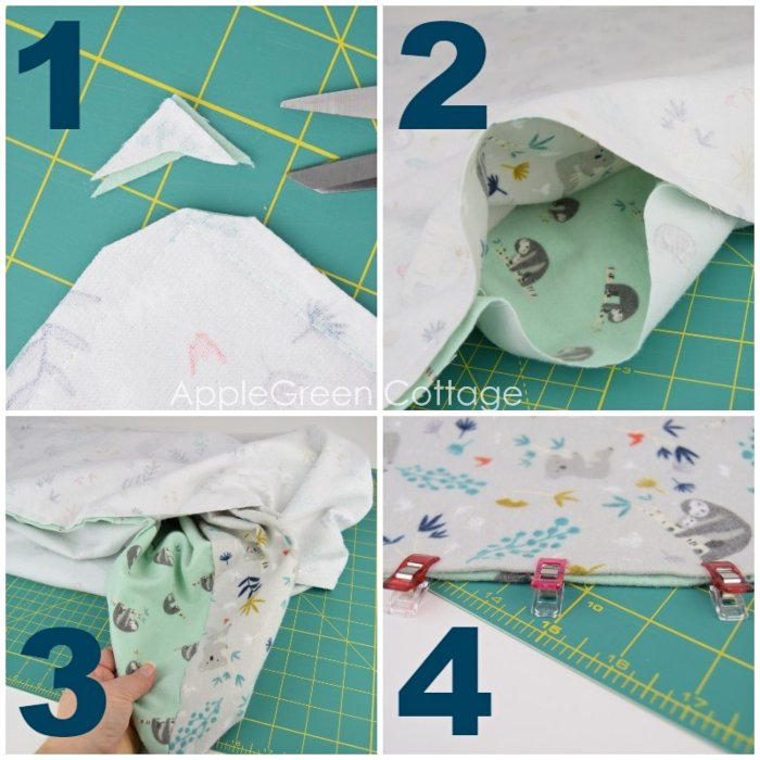 how to make a blanket for baby