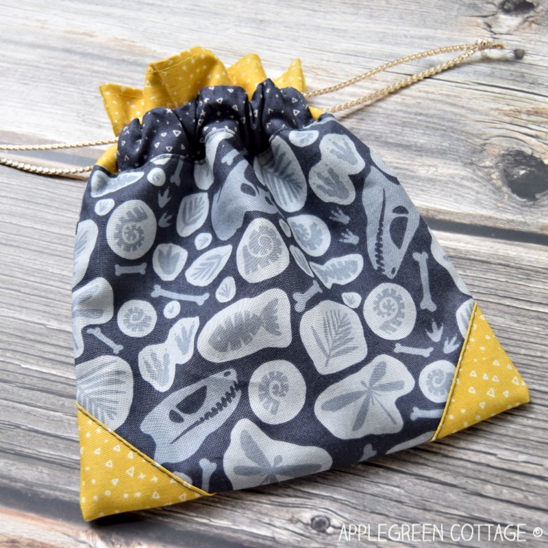 drawstring bag to sew