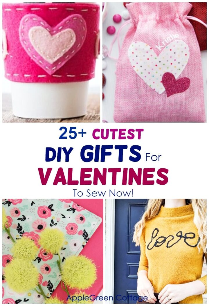 25+ Diy Valentines Gifts You'll Want to To Sew Now!