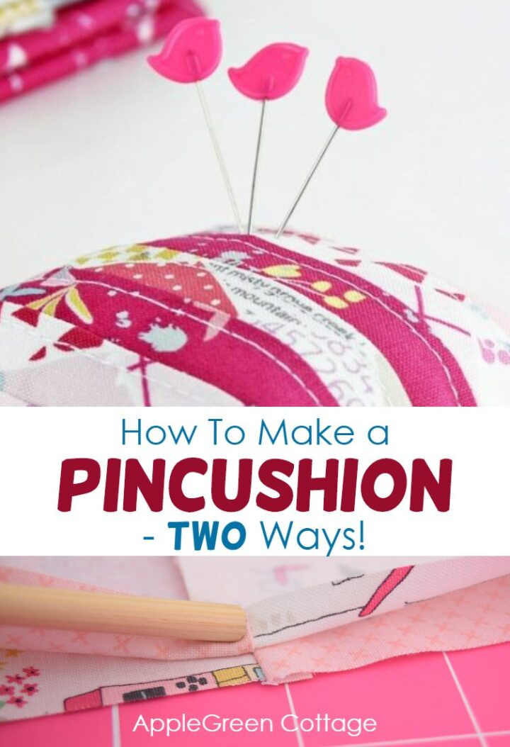 How To Make A Pincushion - Two Ways!