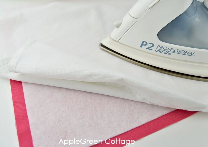 how to press placemat