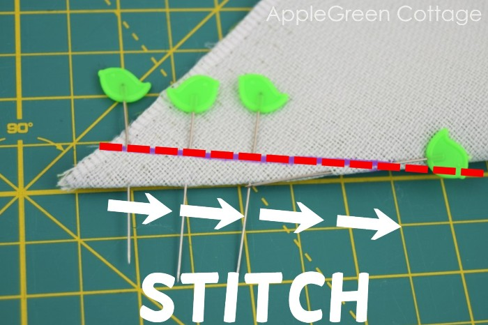 how to sew dart