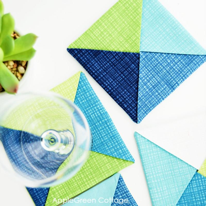 easy coasters to sew