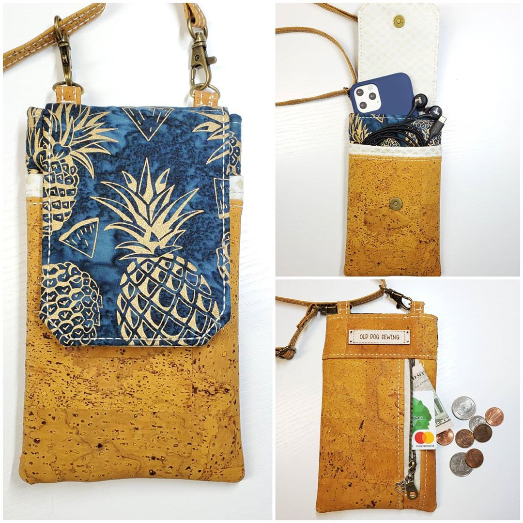 aiden cell phone purse