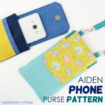 Aiden Crossbody Cell Phone Purse Pattern