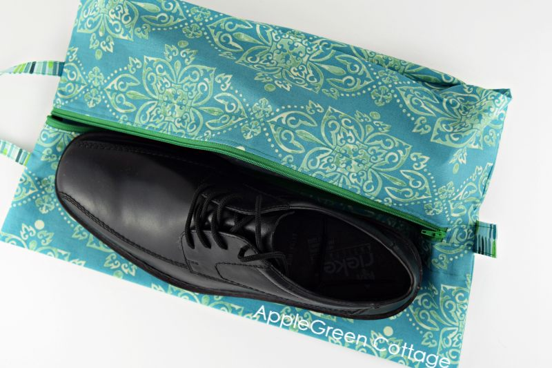 diy shoe bag