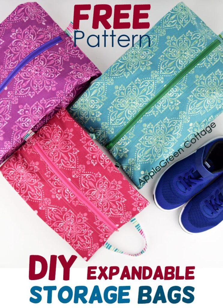 Diy Storage Bag in 3 Sizes – Smart Expandable Bag