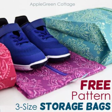 diy storage bag