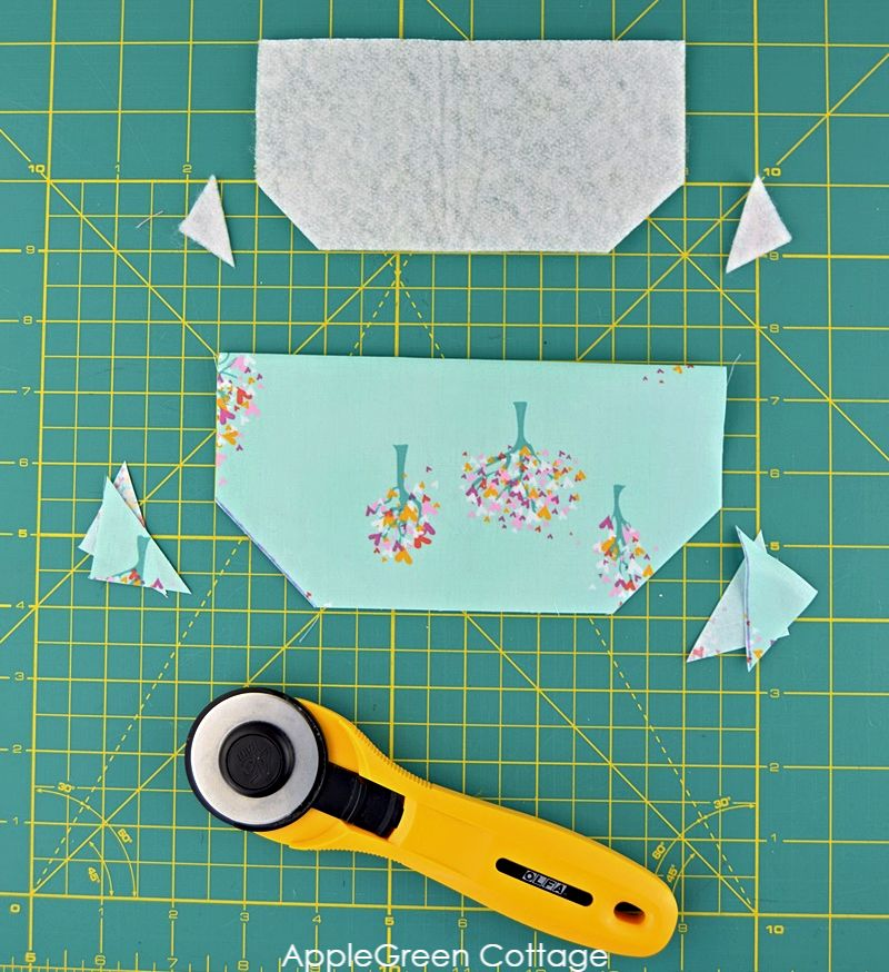 how to cut flap pocket