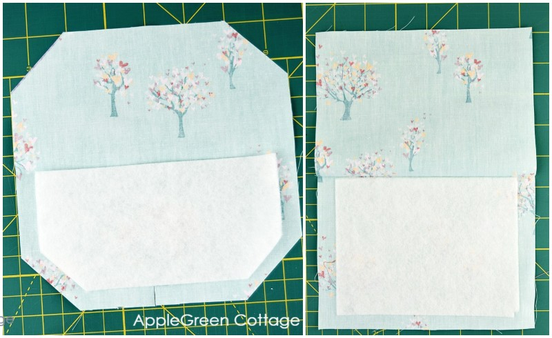 interfaced patch pocket sewing