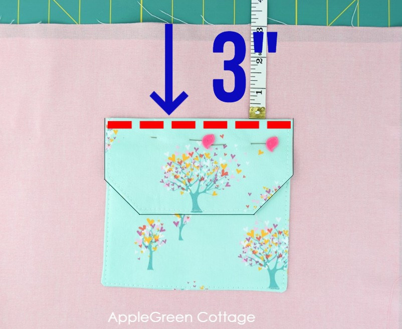 how to add pockets to a bag