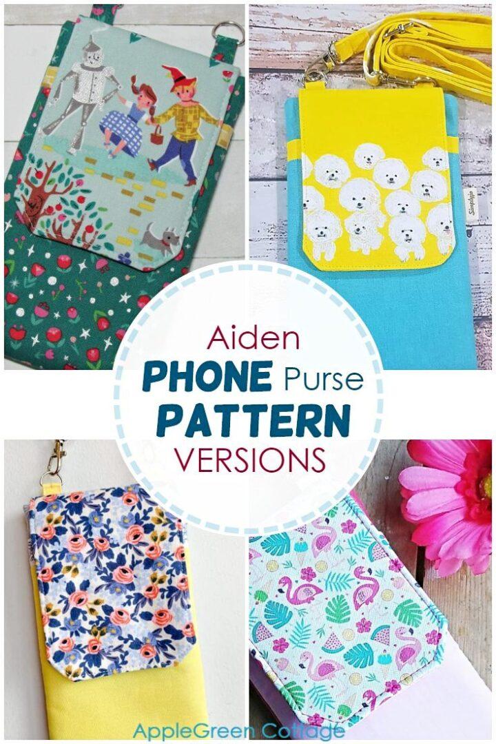 Aiden Diy Phone Case Pattern Versions
