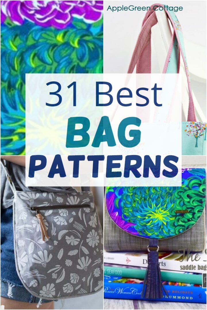34 Best Free Bag Sewing Patterns for You