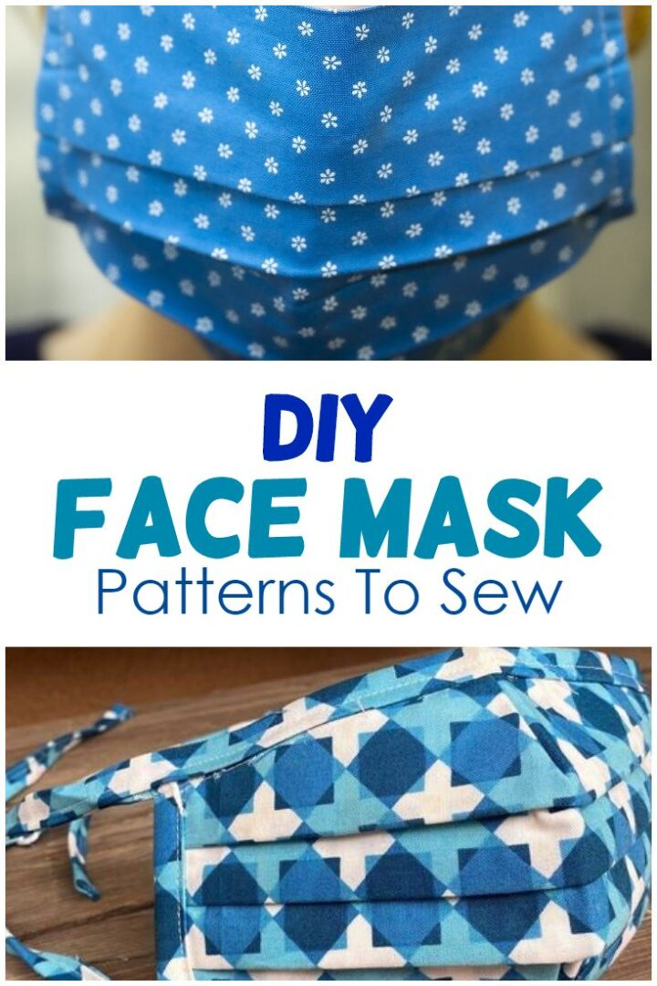 10+ Diy Face Mask Patterns To Sew (+ A Lot Of Helpful Info)