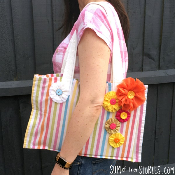 quick tote bag to sew
