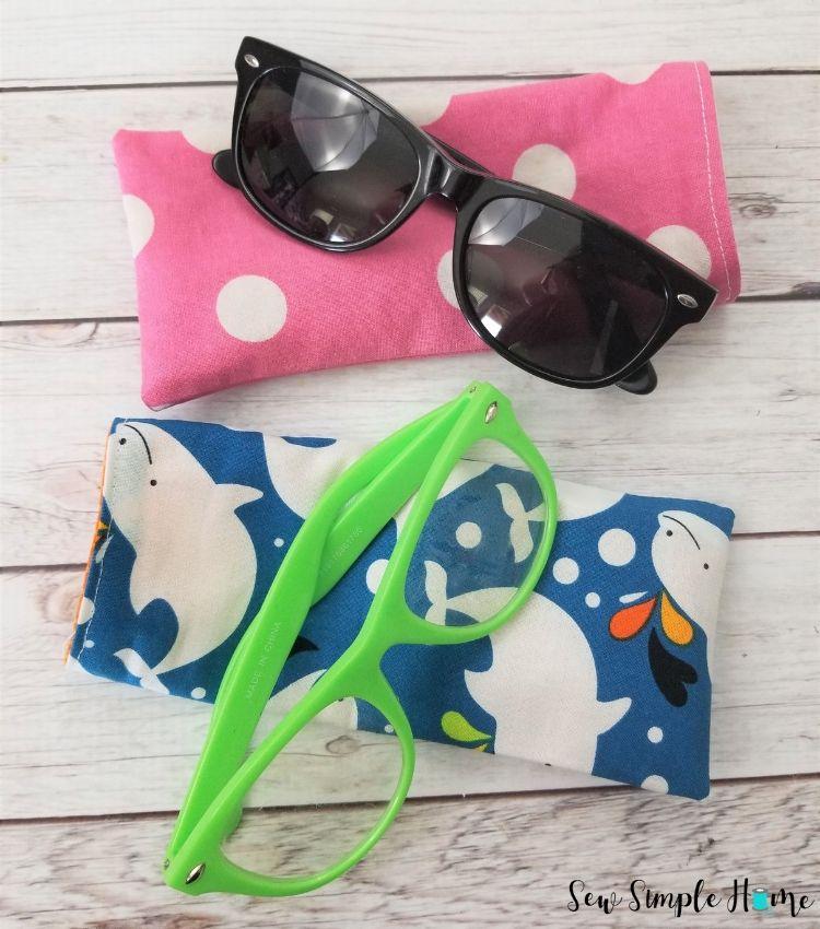 diy glasses case to sew