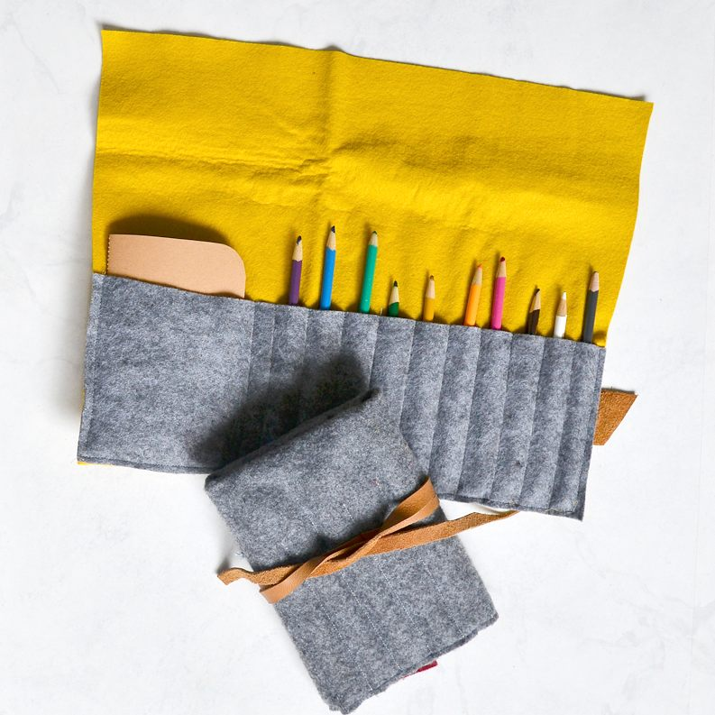 easy pencil roll to sew
