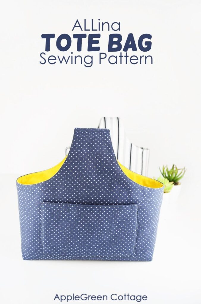 ALLina – Your Modern Pattern For Tote Bag