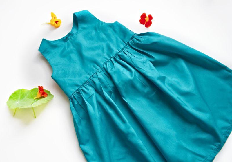 classic girls dress free pattern