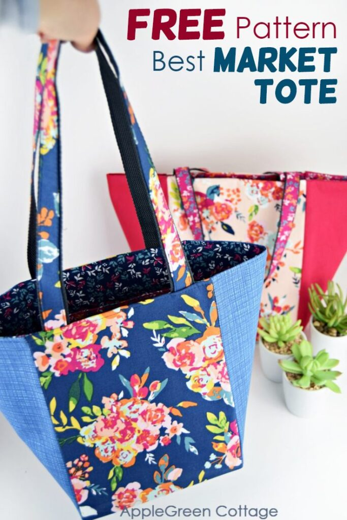 Market Bag Pattern – How To Make A Tote Bag