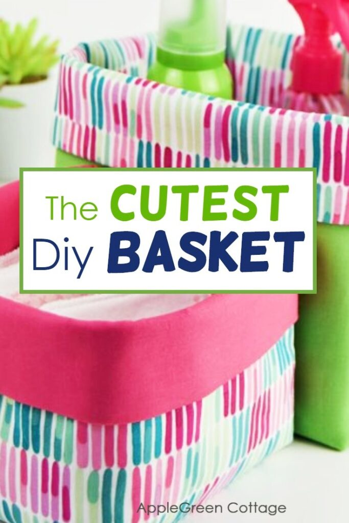 Sew A Basket – In 3 Sizes