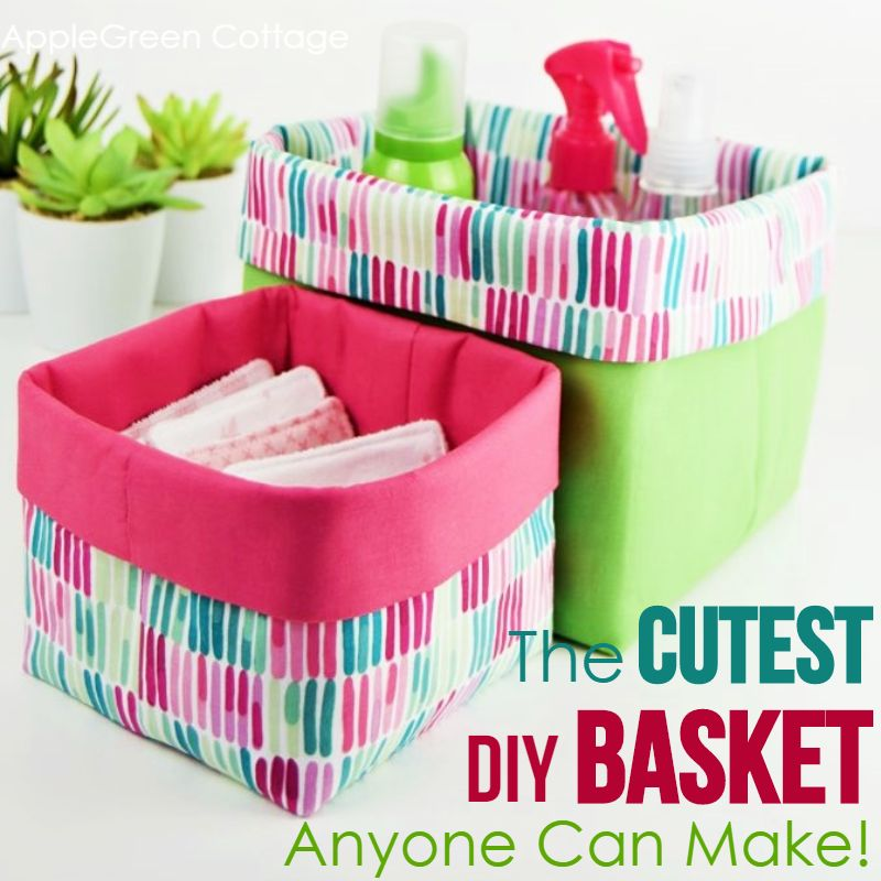 basket sewing tutorial