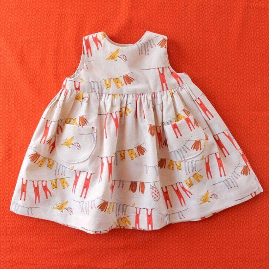 baby girl dress pattern free