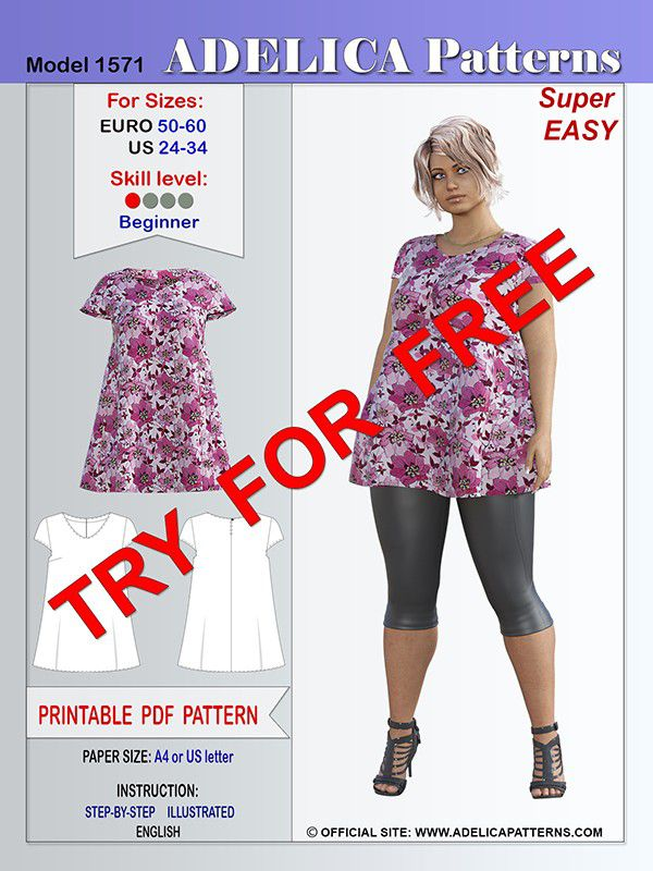free tunic patterns
