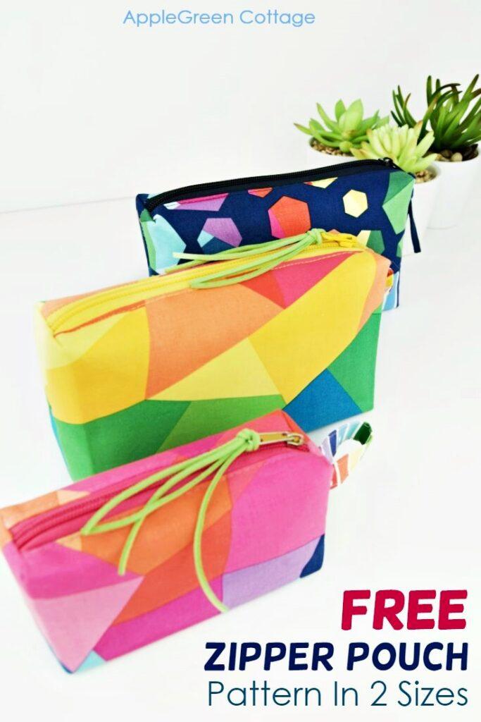 zipper pouch pattern