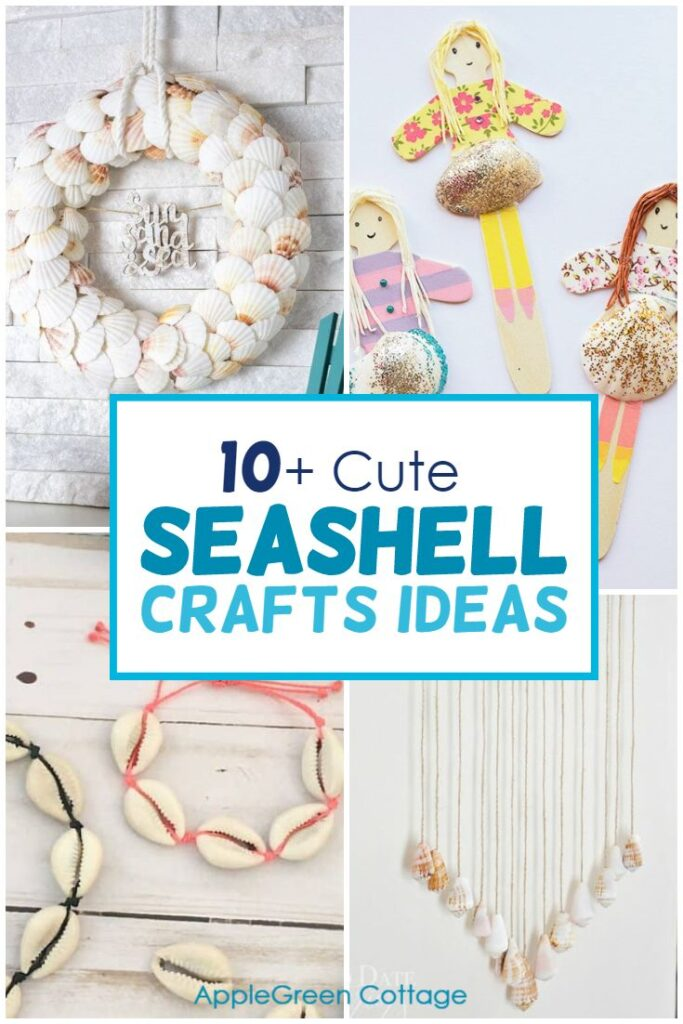 10+ Cutest Seashell Crafts Ideas You Simply Must Try This Summer!