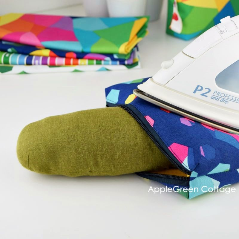 how to press a zipper pouch
