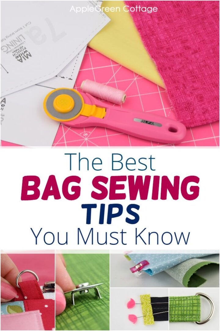 Sewing Bags - THE Bag Sewing Tips You Should Know