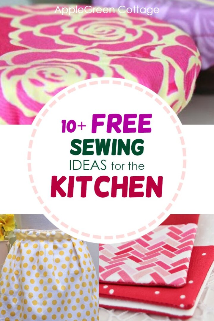 10+ Sewing Projects For the Kitchen - Free Patterns