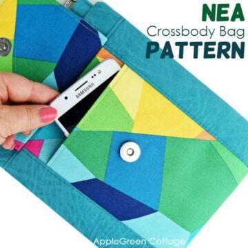 NEA Small Crossbody Bag Pattern - New!