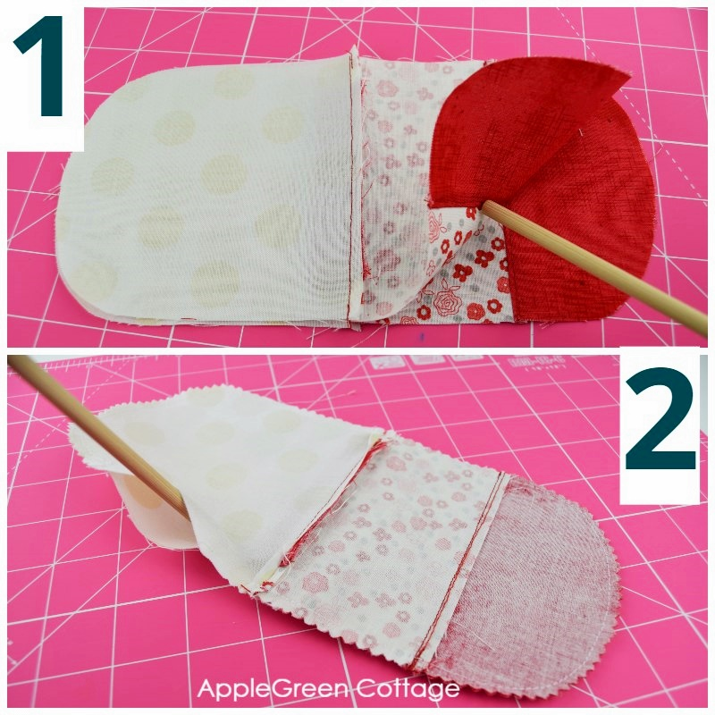 sewing drawstring pouch