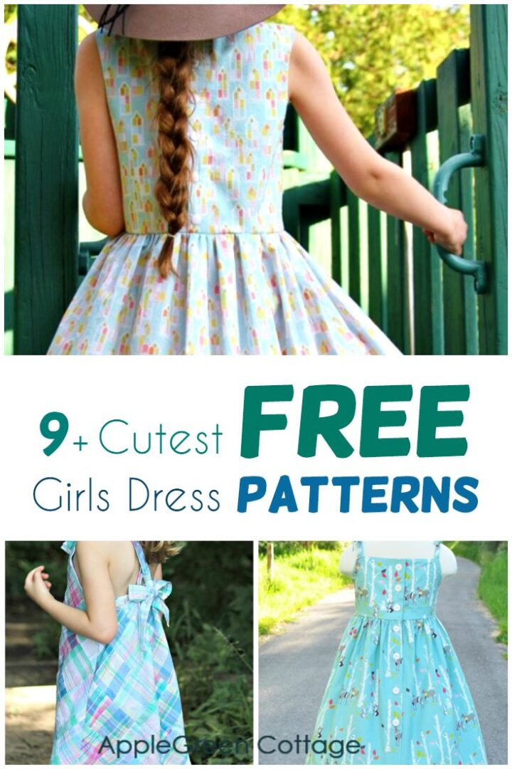 10+ Free Girls Dress Patterns That Will Become Your Favorites!