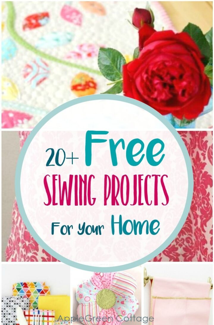 20+ Free Sewing Projects For The Home