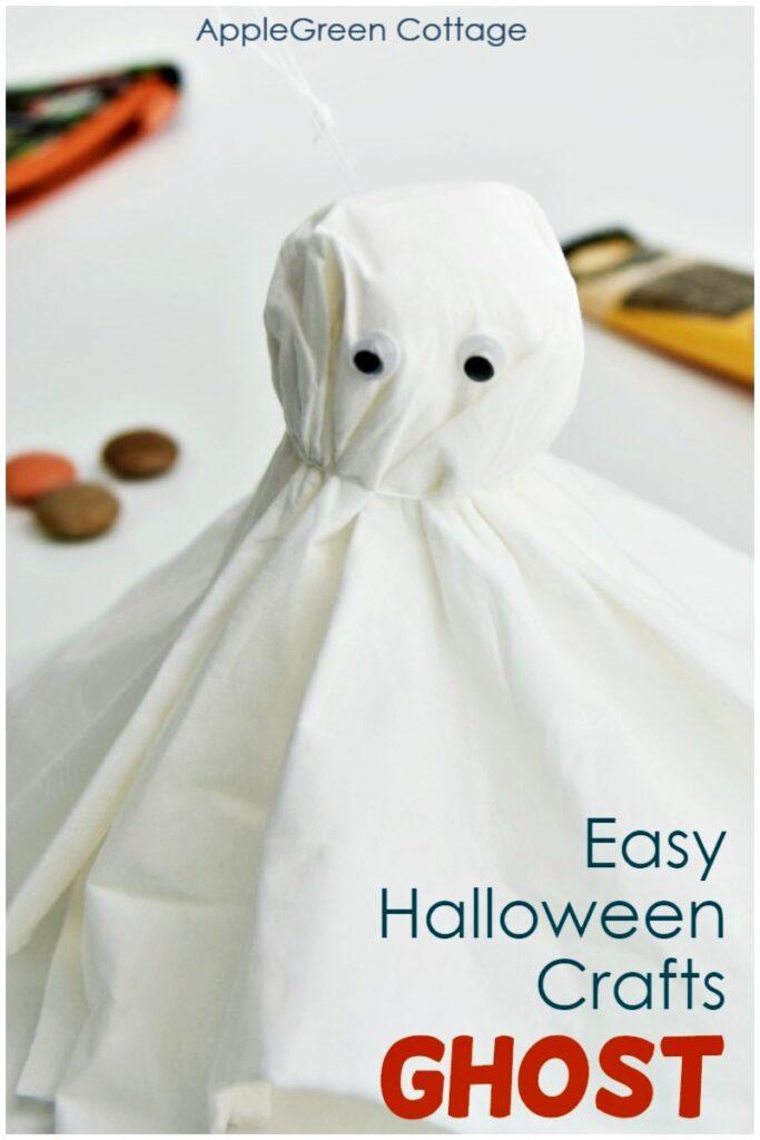 tissue paper ghost craft
