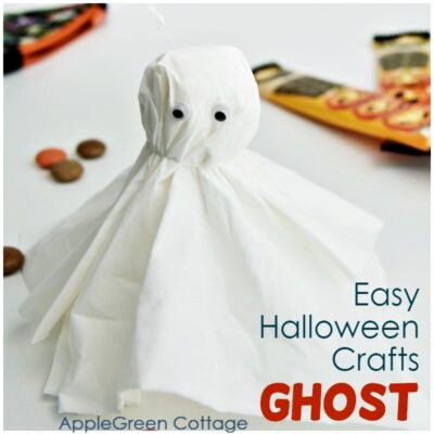 easy ghost crafts