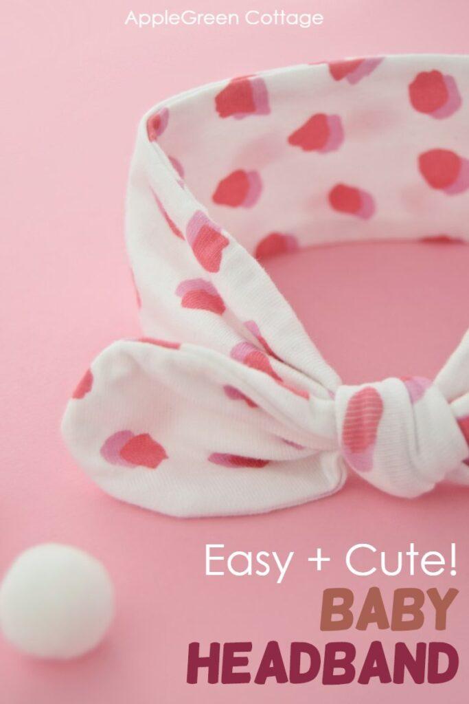 Diy Baby Headband – Sweet & Easy!