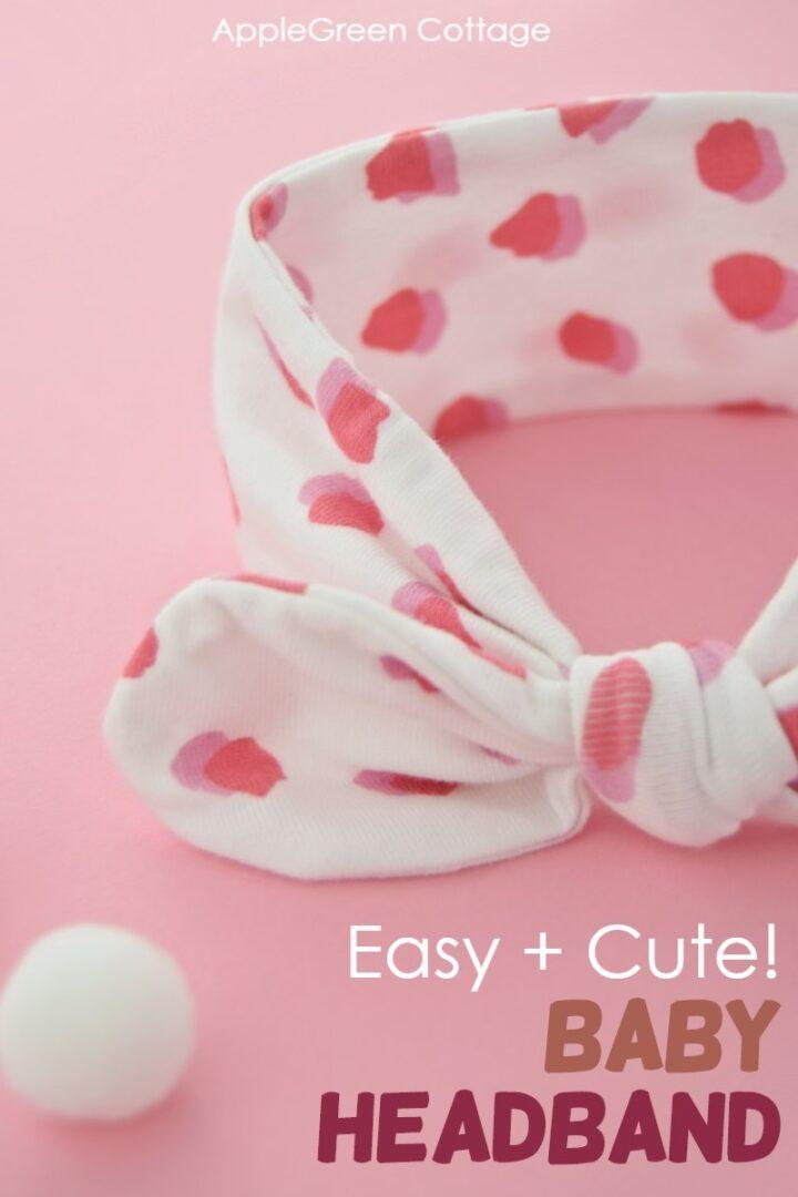 Diy Baby Headband - Sweet & Easy!