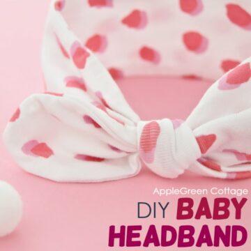 diy headband for a baby