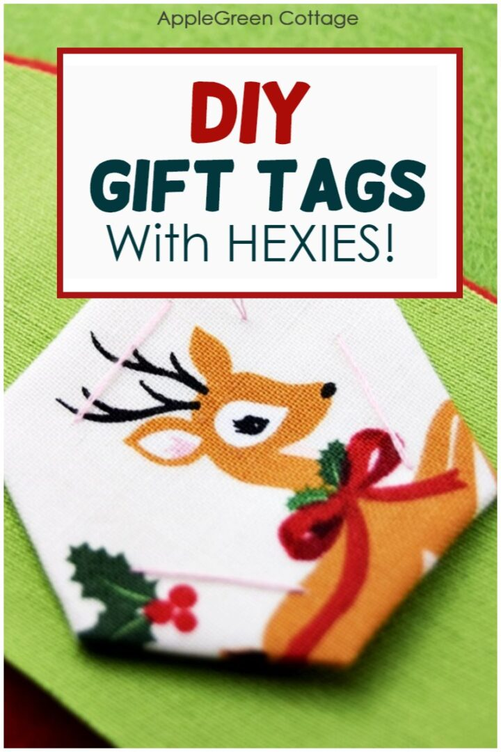 How To Make Gift Tags - With Hexies!