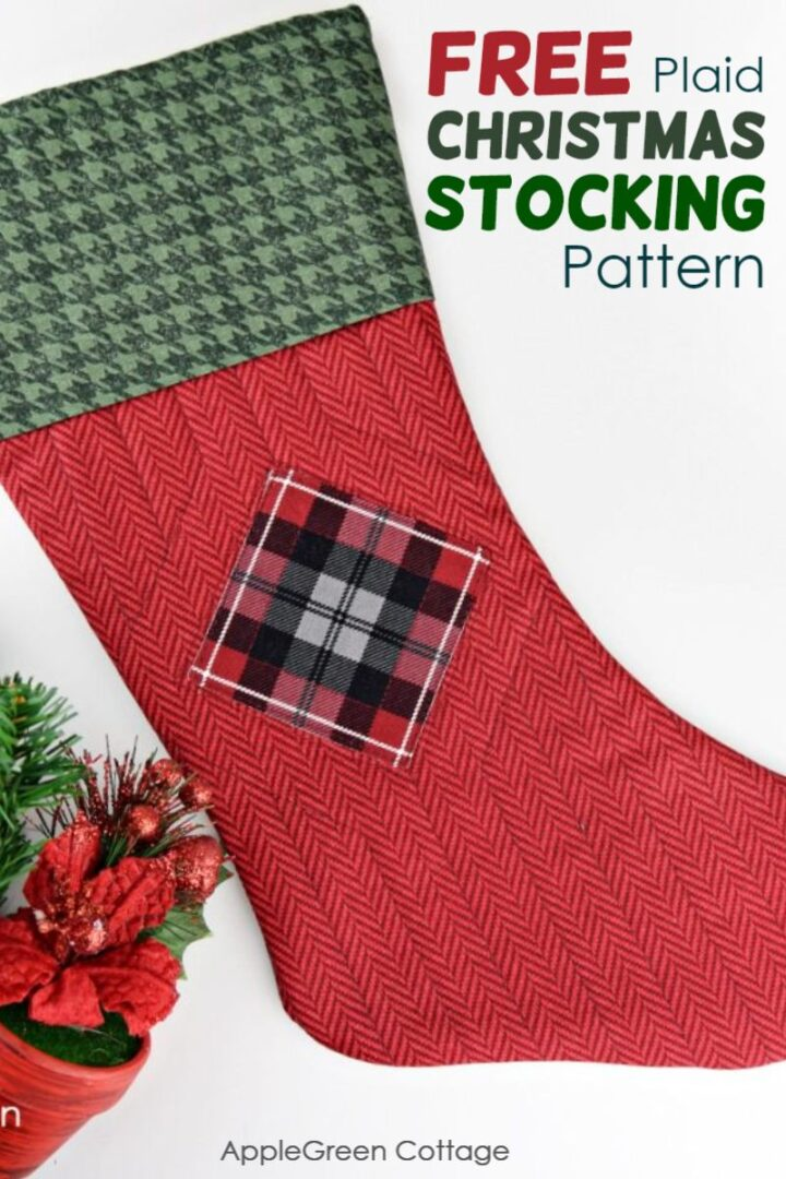 How To Make A Christmas Stocking - All About Plaids!